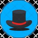 Magician Hat Hat Headgear Icon