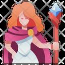Magician Woman Icon