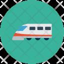 Maglev Locomotive Subway Icon