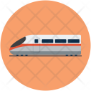Maglev Subway Train Icon