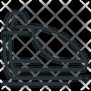 Maglev Hyperloop Train Icon