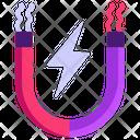 Magnet Horseshoe Magnet Metal Icon