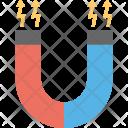 Magnet Horseshoe Electromagnet Icon
