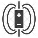 Magnet Electromagnetic Field Icon