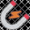 Magnet Physics Education Icon