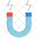 Magnetic Magnet Science Icon