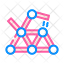 Magnetic Toy Color Icon