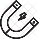 Magnetic Energy Icon