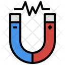 Magnetic Field Magnetism Attraction Icon