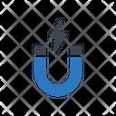 Power Magnet Energy Icon