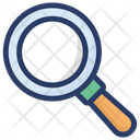 Magnifier Magnifying Glass Research Equipment Icon