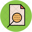 Magnifier Search File Icon