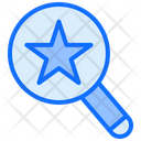 Magnifier Star Search Icon
