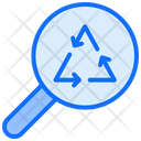 Magnifier Searching Arrows Icon