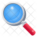 Analysis Search Magnifying Glass Icon