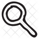 Magnifier Search Glass Icon