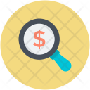 Magnifier Finance Commerce Icon
