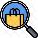 Magnifier Search Purchase Icon