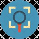 Magnifier focus Icon