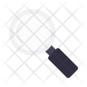 Magnifier Glass Drink Icon