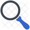 Glass Magnifier Focus Icon