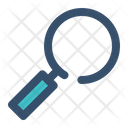 Magnifier Search Education Icon