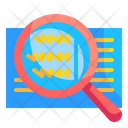 Magnifying Search Read Icon