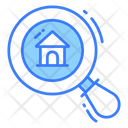 Magnifying Home Search Search Icon