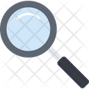 Magnifying Glass Search Research Icon