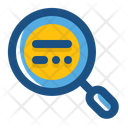 Magnifying Glass Education Learning Icon