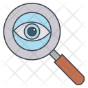 Magnifying Glass Eye Icon
