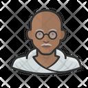 Mahatma Gandhi Avatar User Icon