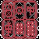 Mahjong Table Games Board Game Icon