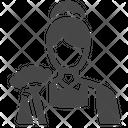 Maid Servant Housekeeper Icon