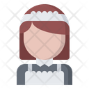 Maid Woman Clean Icon