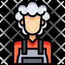 Maid Cleaner Servant Icon