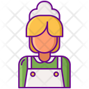 Maid Cleaner Housekeeper Icon