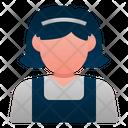 Maid Avatar Woman Icon