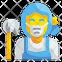 Maid Housewife Housekeeper Icon
