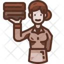 Maid Clean Up Housekeeping Icon