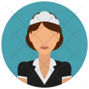 Maid Housekeeping Woman Icon