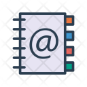 Mail Book Directory Icon