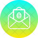 Mail Envelope Easter Icon
