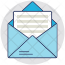 Letter Airmail Correspondence Icon