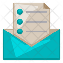 Mail Office Supply Icon