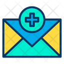 Medical Message Letter Mail Icon