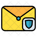 Mail Message Shield Icon