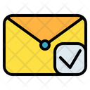 Mail Message Check Icon