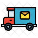 Mail Delivery Truck Icon
