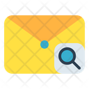 Mail Message Magnifier Icon